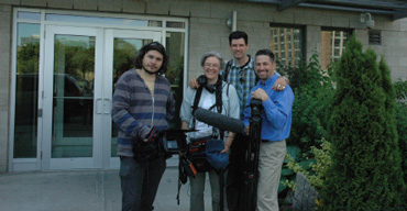 In Griffintown Production Crew